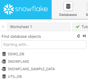 snowflakeデータベース