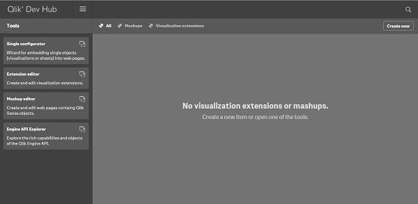 Qlik Senseでextension(エクステンション)の作り方