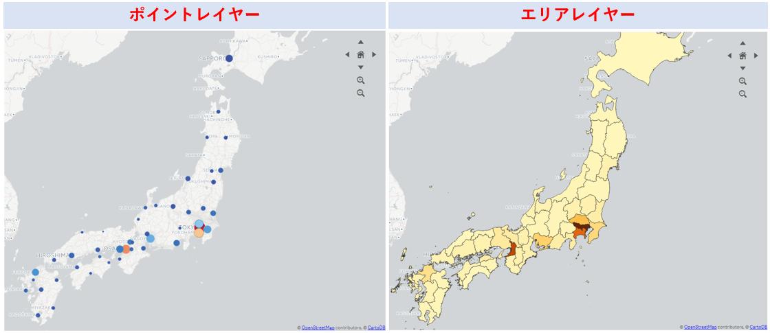 Qlik Senseでマップ分析【データを地図上に表示】
