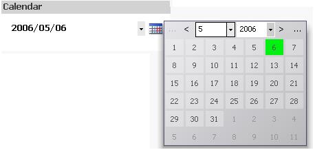QlikViewのカレンダー機能